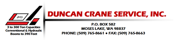 Duncan Crane Service Inc