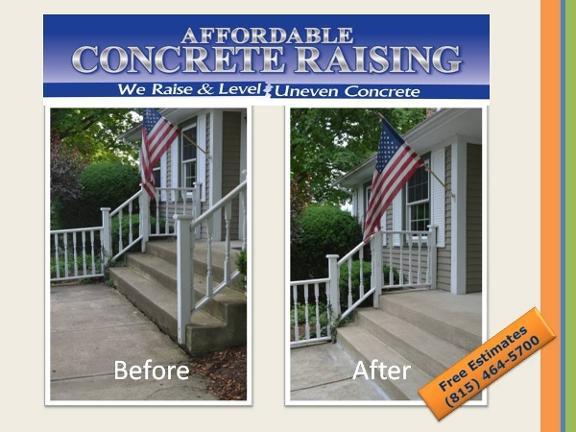 Affordable Concrete Raising