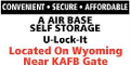 A-Air Base Self Storage
