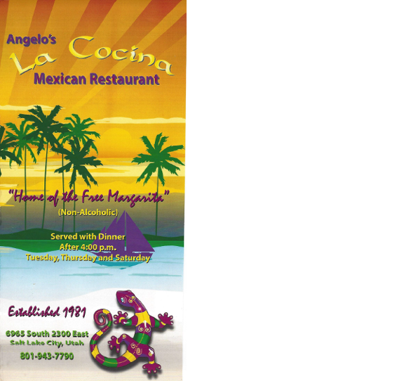 La Cocina Mexican Restaurant Salt Lake City Ut