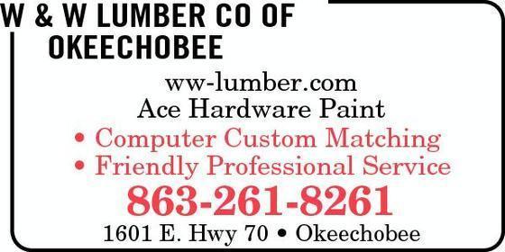 W & W Lumber Co of Okeechobee