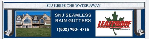 Snj Seamless Rain Gutters Serving Vermont & New Hampshire