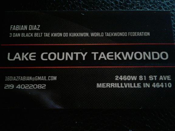 Lake County Tae Kwon Do
