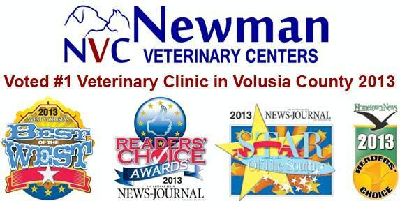 Newman veterinary center coupons