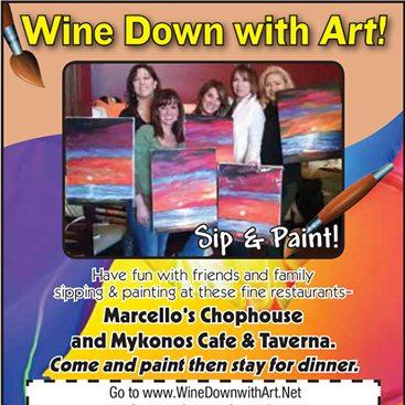 Wine down with art sip paint albuquerque nm 87112 for Paint and wine albuquerque