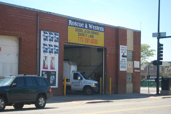 Roscoe Western Garage Chicago Il 60618