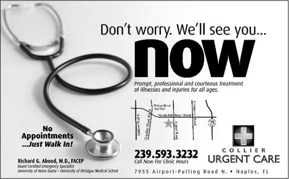 Collier Urgent Care Centers - North Naples.