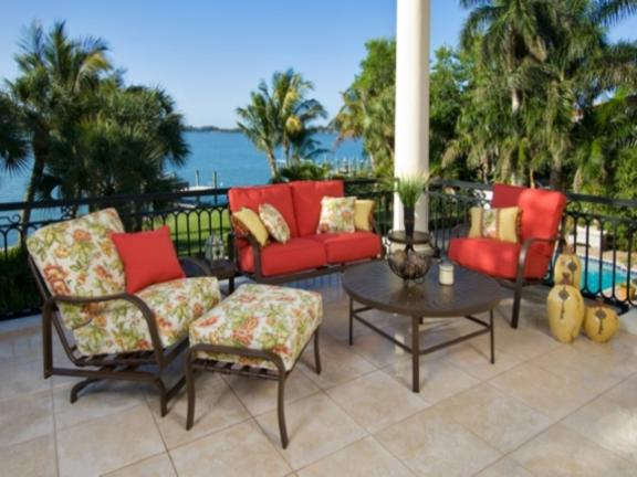Lovely Palm Casual Patio Furniture